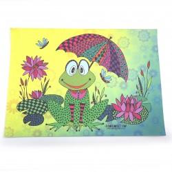 Poster grenouile